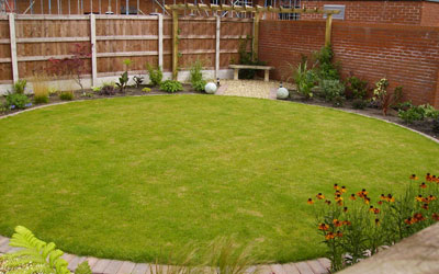 Marvelous New Build Garden Design Liverpool